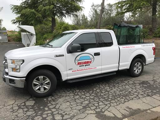 Reliable Auto Glass Mobile Service Truck